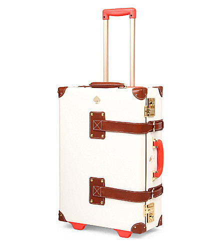 STEAMLINE LUGGAGE New Yorker Kate Spade carryon suitcase (White