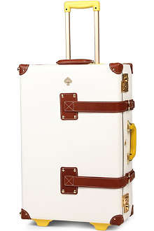 STEAMLINE LUGGAGE New Yorker Kate Spade stowaway suitcase