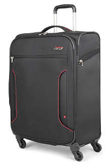 ANTLER Cyberlite large expandable four-wheel suitcase 82cm