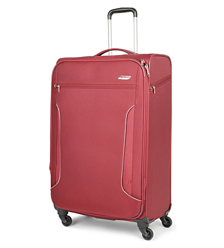 ANTLER Cyberlite large expandable four-wheel suitcase 82cm (Red