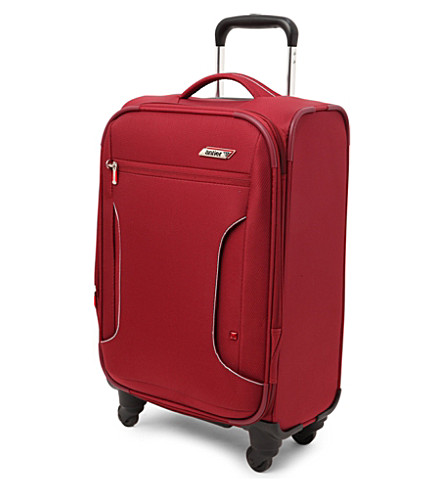 ANTLER Cyberlite expandable four-wheel cabin suitcase (Red