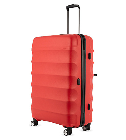ANTLER Juno medium four-wheel trolley 68cm (Red