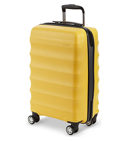 ANTLER Juno medium four-wheel trolley suitcase (Yellow