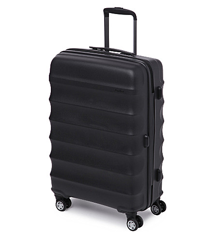 ANTLER Juno medium four-wheel suitcase 68cm (Black