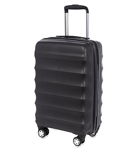 ANTLER Juno four-wheel cabin case (Black