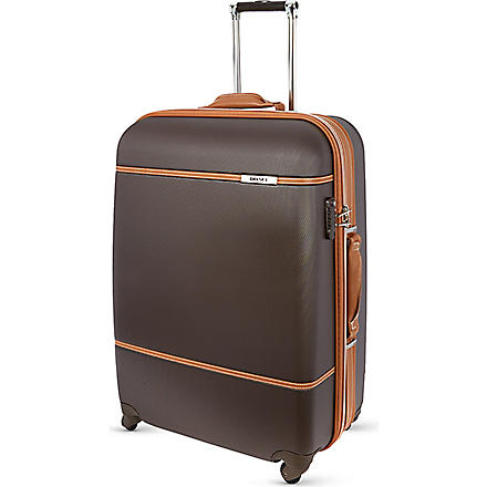 DELSEY All Around four–wheel suitcase 81cm (Chocolate
