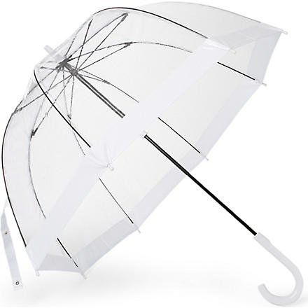 FULTON Birdcage umbrella (White