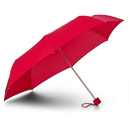 FULTON Minilite compact umbrella (Pomegranite