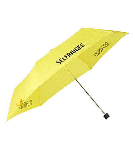 FULTON Superslim branded umbrella (Yellow