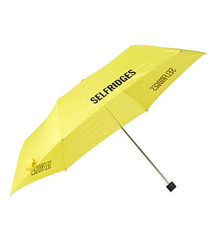 FULTON Superslim 品牌标识伞 (黄色