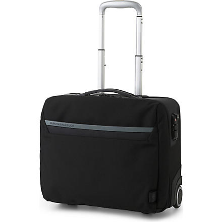 MANDARINA DUCK Work wheeled cabin briefcase (Black