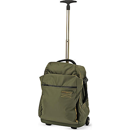 MANDARINA DUCK Isi small two-wheel suitcase 51.5cm (Green