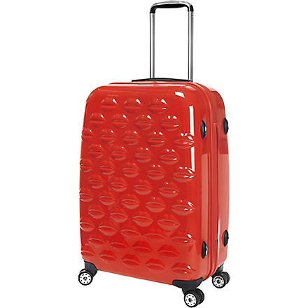 Lips four-wheel suitcase 55cm (Red