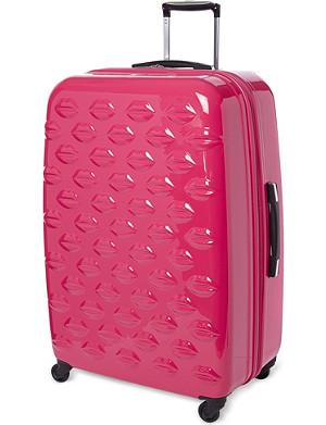 NONE Lips four-wheel suitcase 77cm