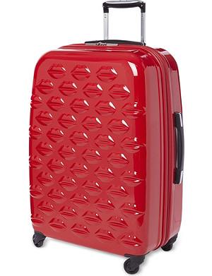 NONE Lips four-wheel lips suitcase 69cm