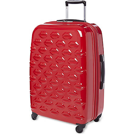 Lips four-wheel lips suitcase 69cm (Red