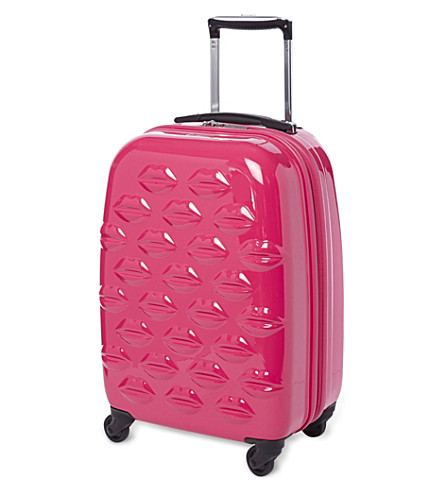 Lips four-wheel cabin case 56cm (Pink
