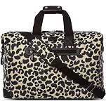 LULU GUINNESS Leopard print clipper bag