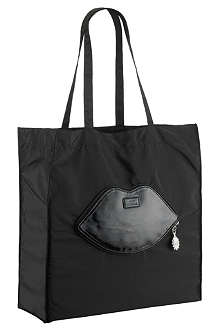 LULU GUINNESS Foldaway lips shopper