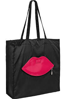 NONE Foldaway lips shopper