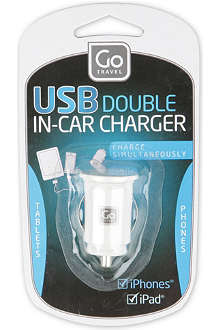 DESIGN GO USB in-car charger