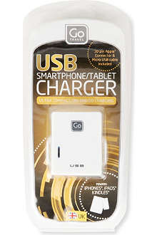 DESIGN GO Twin USB UK charger