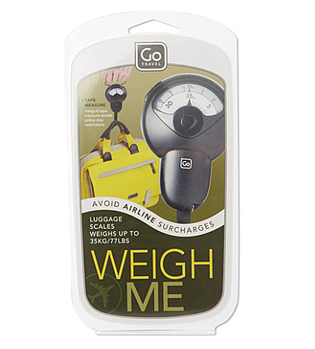 GO TRAVEL Weigh Me scales (None