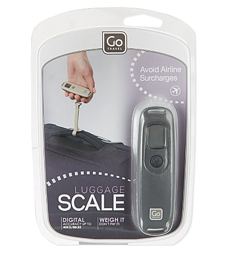 GO TRAVEL Digital scales (N/a