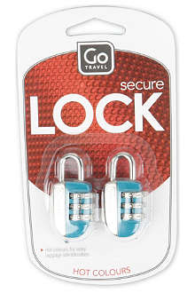 GO TRAVEL Glo key locks