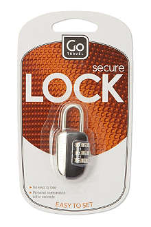 DESIGN GO Combination padlock