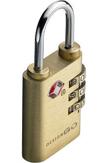 DESIGN GO Travel Sentry lock