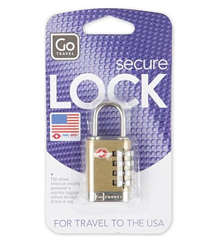 GO TRAVEL Quatro 箱锁