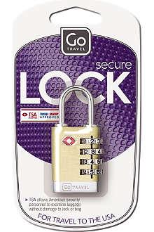 GO TRAVEL Quatro case lock