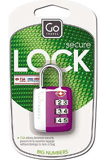 DESIGN GO Big Wheel case lock
