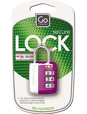 GO TRAVEL Big Wheel case lock