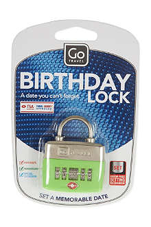 DESIGN GO Birthday lock