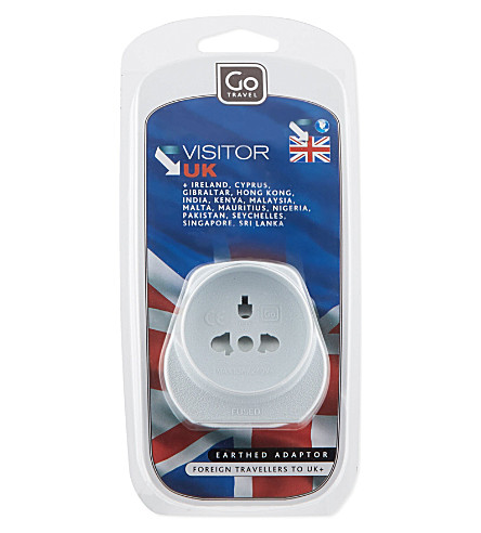 GO TRAVEL The Visitor earthed adaptor
