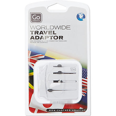 GO TRAVEL Worldwide adaptor (None