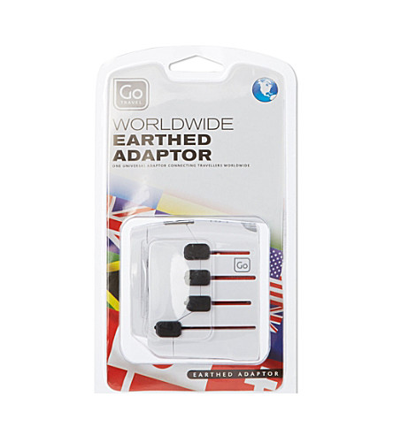 GO TRAVEL World wide earth adaptor (None