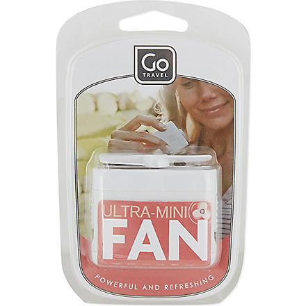 GO TRAVEL Micro fan (Black