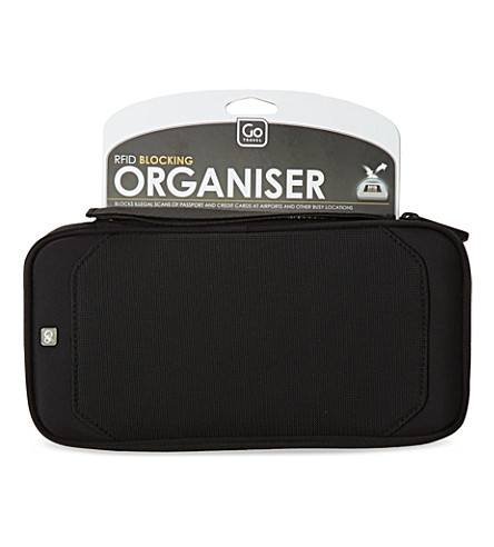 GO TRAVEL RFID blocking organiser (N/a