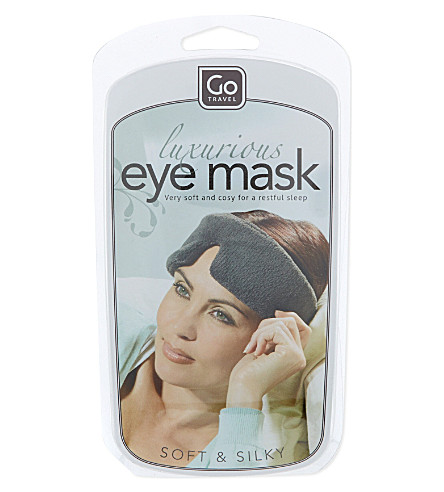 GO TRAVEL Luxury eye mask (None