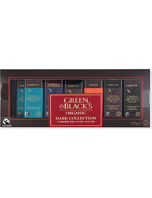 GREEN & BLACKS Organic dark miniatures collection 180g