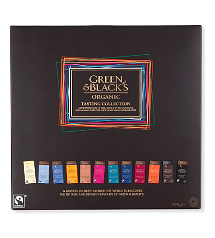 GREEN & BLACKS Organic tasting collection 395g