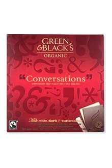 GREEN & BLACKS Conversations organic chocolates 180g