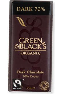 GREEN & BLACKS Organic dark chocolate bar 35g