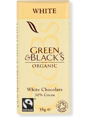 GREEN & BLACKS Organic white chocolate bar 35g