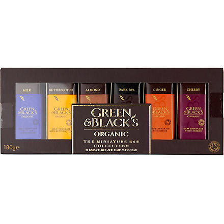 GREEN & BLACKS Miniature collection 180g