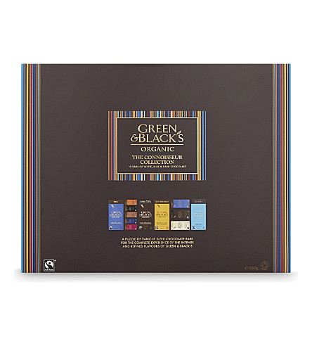 GREEN & BLACKS The Connoisseur chocolate collection 580g