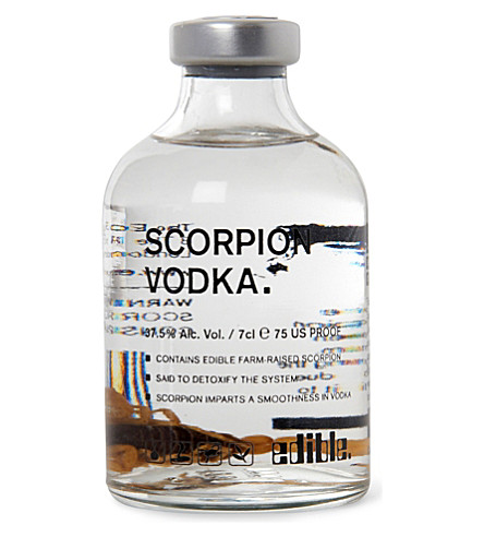 EDIBLE Scorpion vodka 250ml